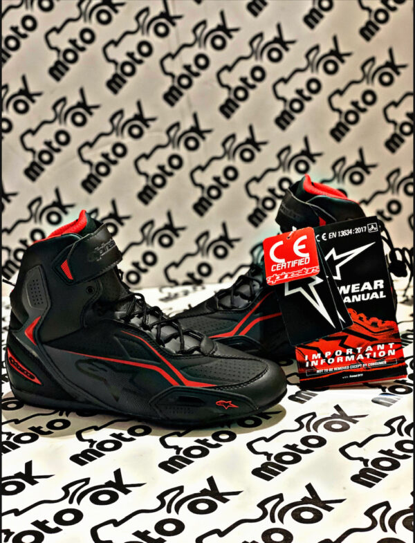 Scarpe Alpinestar - FASTER-3 BLACK/GREY/RED