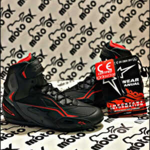 Scarpe Alpinestar - FASTER-3 BLACK/GREY/RED