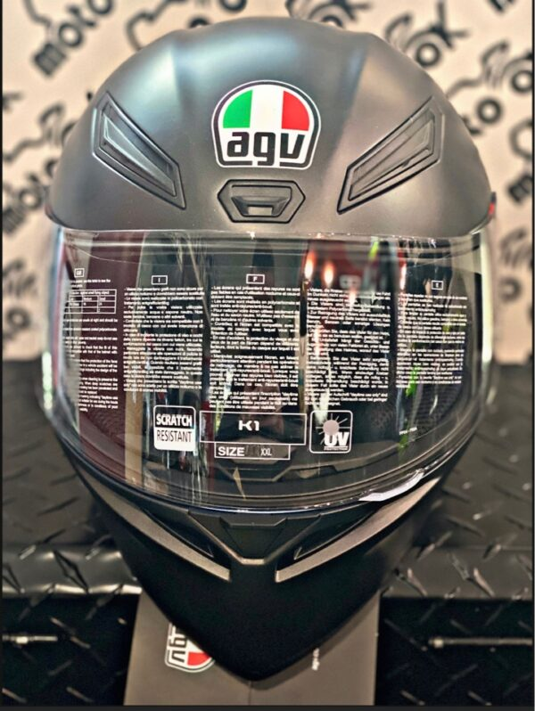 Casco integrale K1 MONO ECE2205 - MATT BLACK