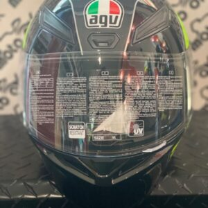 Casco integrale K1 MULTI ECE2205 - POWER GUNMETAL/WHITE/GREEN