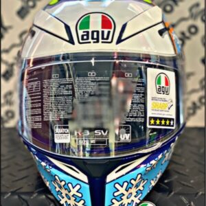 Casco integrale K3 SV E2205 TOP - ROSSI WINTER TEST 2016